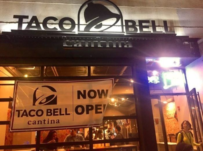 Taco Bell Cantina Opened On Chapel Street In Early October This New Arrival On The Elm City Food Scene Is Quickly Becoming P In 2021 Taco Bell Taco Bell Cantina Tacos
