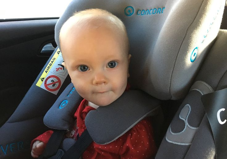 Video review - Concord Reverso, extended rear facing car seat
