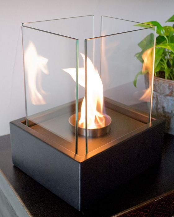 Delux Tabletop Ethanol Fireplace $99