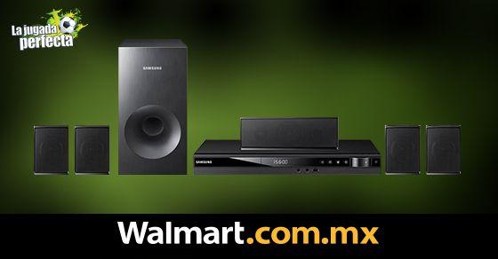 Con este Teatro en casa Samsung de 5.1 canales disfruta de una excelente calidad de sonido con potente efecto de graves y filtra las fuentes de ruido que pueden ocasionar distorsiones ofreciéndote un sonido de claridad superior. Walmart.com.mx, Hacemos Clic!