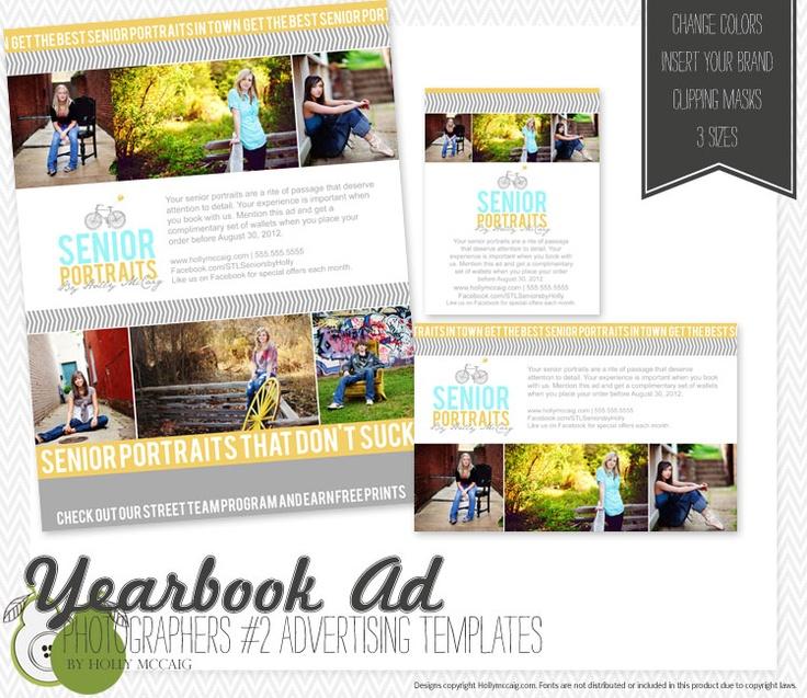 senior ad templates