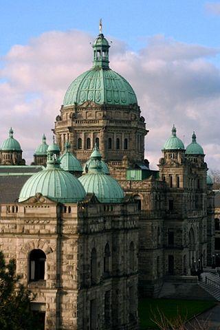 Parliament building, Victoria, British Columbia.Canada