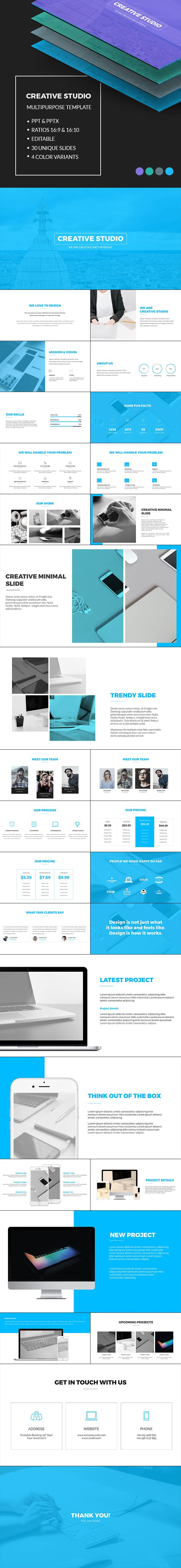 Corporate PowerPoint Template-V04