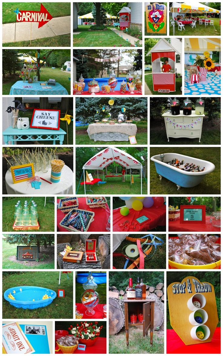 130 best birthday carnival or circus party images on pinterest