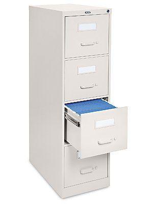 Excellent File Cabinet 4 Drawer  Black By Uline 60900 File Cabinets