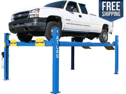 The Atlas® 412A 12,000 pound capacity four post lifts are designed and built to commercial grade standards and will provide many years of service. Our Atlas® alignment lifts offer many exclusive features not found on many other competitor's lifts.