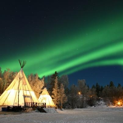 【イエローナイフ、カナダ】美しいオーロラスポットです Yellowknife, Canada- Known as one of the best spots for aurora watching