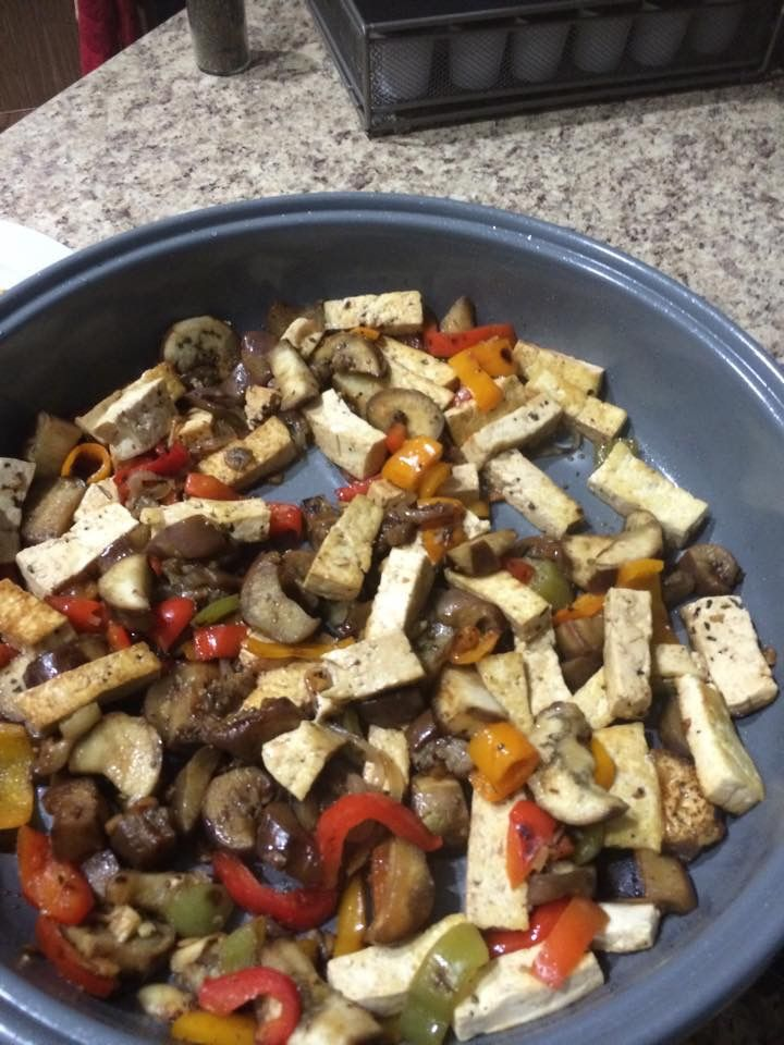 kitchen boss eggplant caponata%0A Stir fry with tofu and eggplant