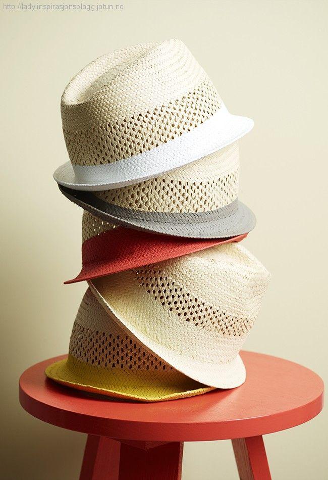 Male speil, lamper, hatter… «Alt» kan males!