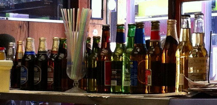 Botellas. Chile / iPhone camera.
