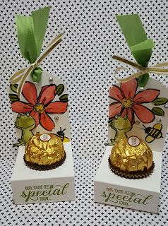 Lynda's Paper Patch: Candy Holders - tutorial