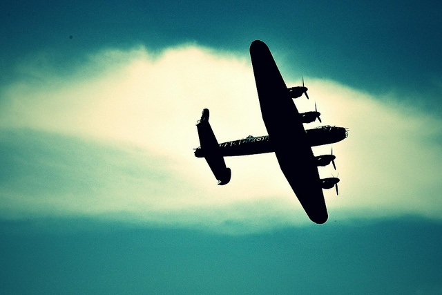Lancaster Bomber as a tattoo