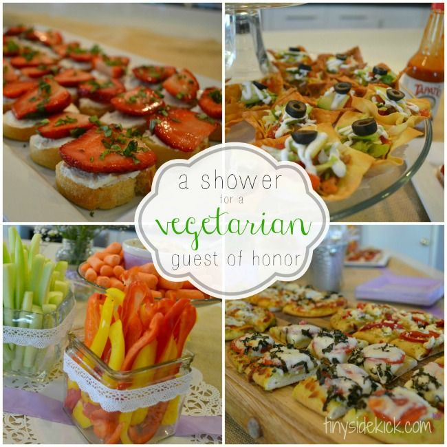 Beautiful Baby Shower Lunch Menu And Downloadable Recipes. Vegetarian  Appitizers