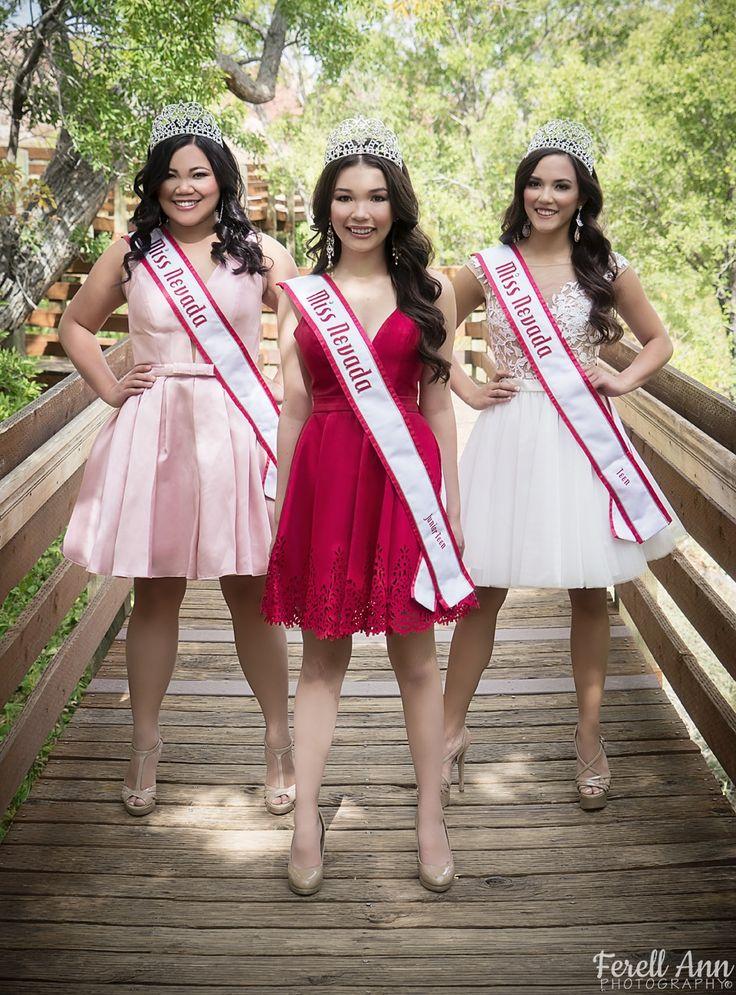 National American Miss Nevada 2015-2016  - Bonnie Lei, National American Miss Nevada Teen 2015-2016 - Kailyn Domingo, National American Miss Nevada Jr-Teen 2015-2016 - Erika Dalton