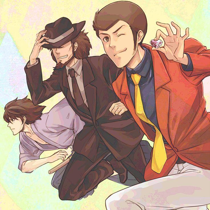 Goemon, Jigen, and Lupin