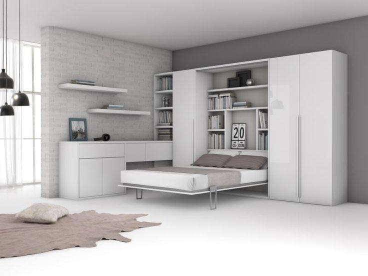 Spazio. Comfort. Qualità. Ti proponiamo un matrimoniale unico: il letto a scomparsa New York. Un nome, una garanzia.  https://www.artigianiincitta.it/fidati-ci-sta-letto-a-scomparsa-modello-new-york-armadio-a-ribalta-matrimoniale-componibile/  #homedesign #home #italy