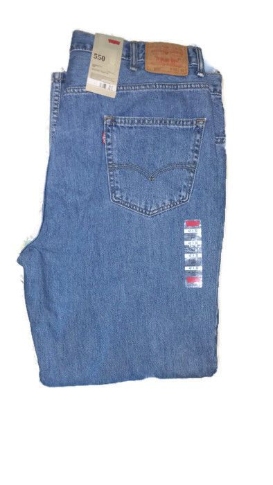 Men's NWT Levis 550 Relaxed Fit 42 x 32  #Levis #RelaxedFit