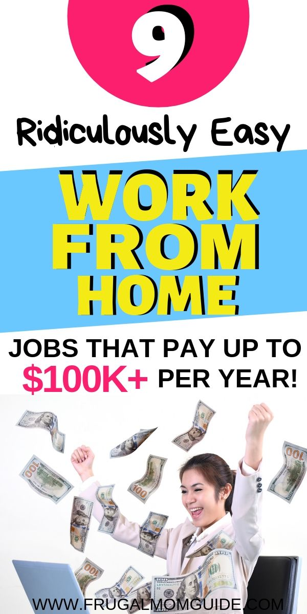 9 Best Work from Home Jobs that Pay up to $100 000+ Per Year