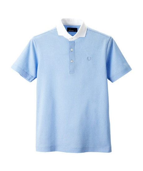 Jacket Polo Shirt - Wide Collar