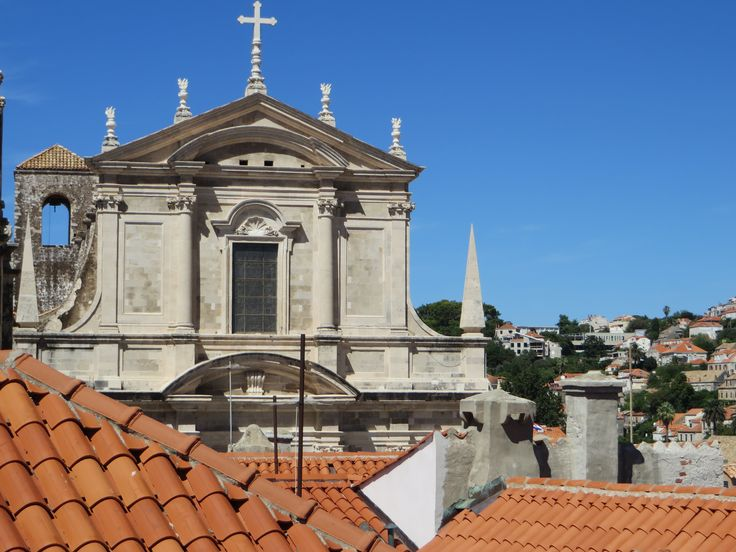 Church Rises Above To Be Viewed By All Croatia Dubrovnik Scenic