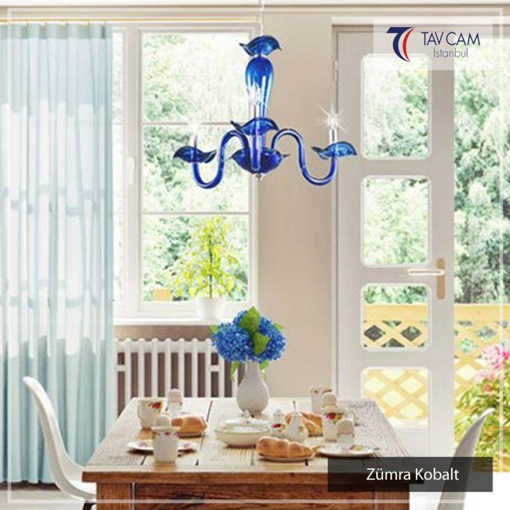 Mavi rengin en güzel tonuna sahip olan bu Zümra Kobalt avize tavcam.com'da! Ürünü detaylı incelemek için linke tıklayın:http://bit.ly/2ga37WI #tavcam #tavcamavizeaydınlatma #plaforyer #plafonyeravize #avizeci #üretim #aydınlatma #dekorasyon #elyapımı #camsanatı #zümraserisi #şık #Turkey #exclusive #special #bright #design #art
