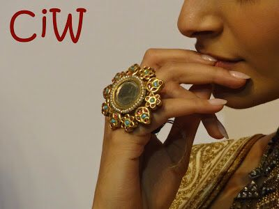 Colourful arsi ring