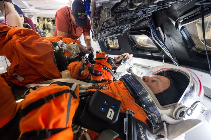 Orion Spacecraft Suited Crew Testing Follow @GalaxyCase if you love Image of the day by NASA #imageoftheday