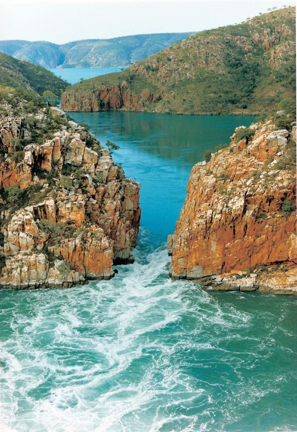 Horizontal Falls WA. Seeing is believing - truly amazing phenomenon in the world.