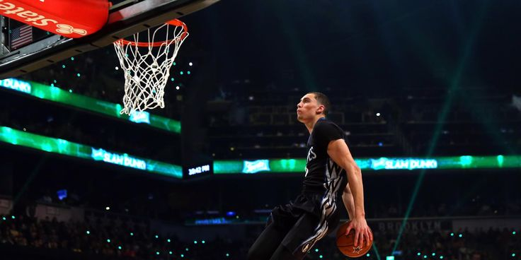 Watch All Of Zach Lavine S Dunks From The Dunk Contest Nba Slam