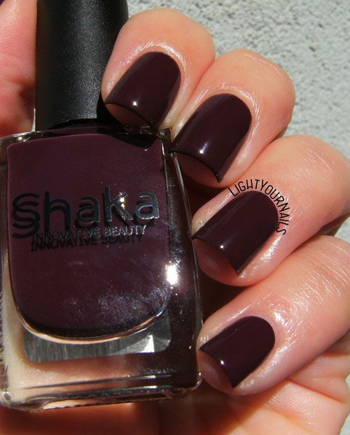 Shaka Candy Plum @shakabeauty @ovsofficial #smalto #nailpolish #shaka #shakabeauty