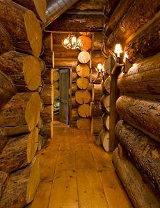 log cabin interior design an extraordinary rustic retreat - Log Homes Interior Designs