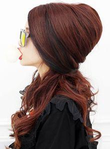 #woman hairstyle #half up style #부천미용실 #세븐에비뉴