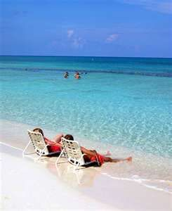 Seven Mile Beach Cayman islands....wish i was there!