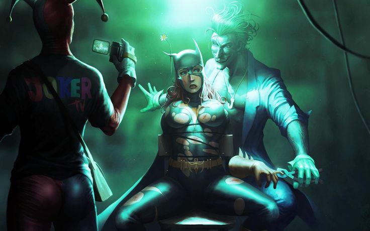 Joker T.V. #DC #Torture #Batwoman