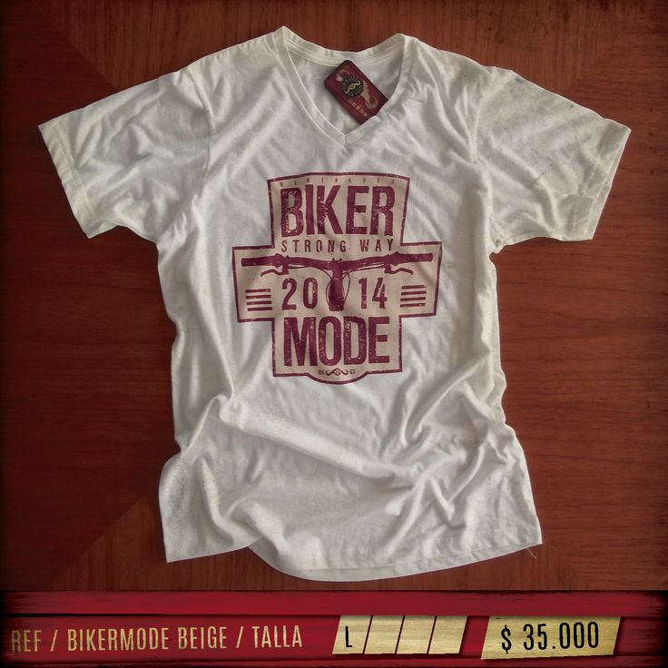Camiseta 100% Algodón / Ver mas www.facebook.com/bikingoes