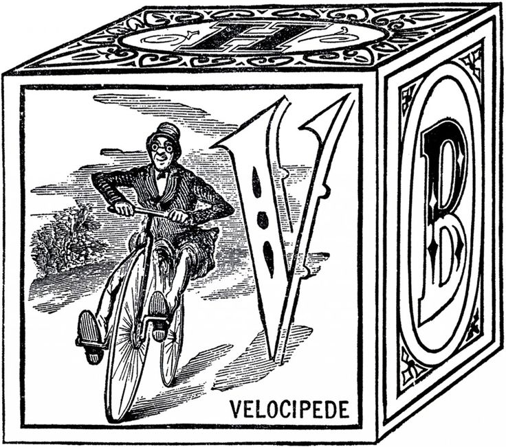 Victorian Toy Block Images - The Graphics Fairy