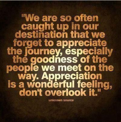 the goodness of the people :)