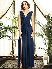 Dessy Collection Style 2894. I think everything in this Lux Chiffon 1920s look are the PERFECT dresses. And there's 7 of them.