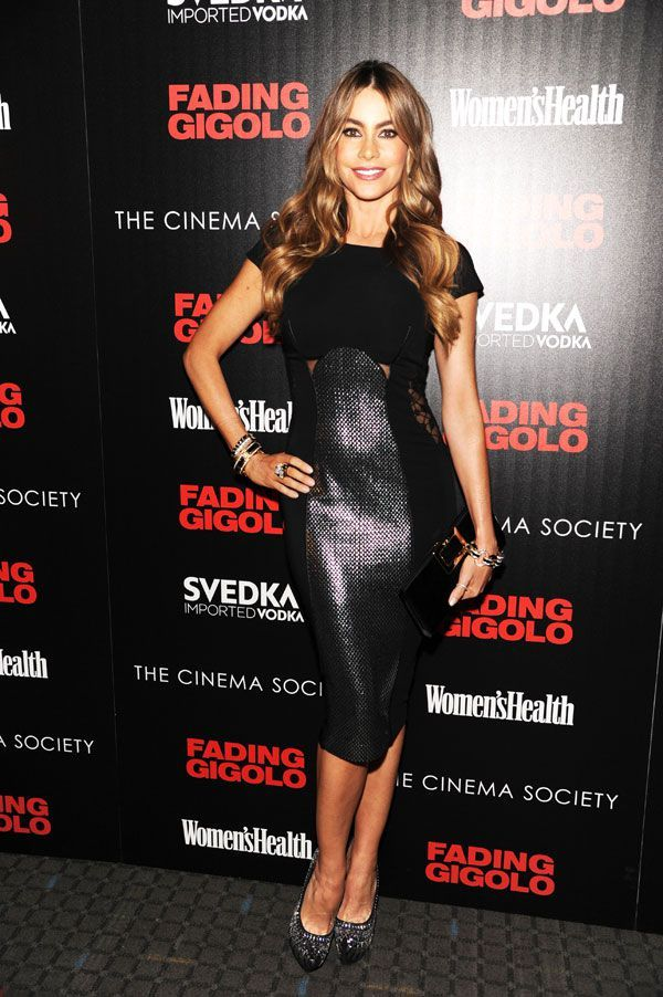 Sofia attends the Cinema Society & Women's Health screening of Fading Gigolo at SVA Theater in New York.