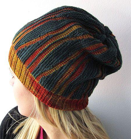 Swing knitting: Oddment hat