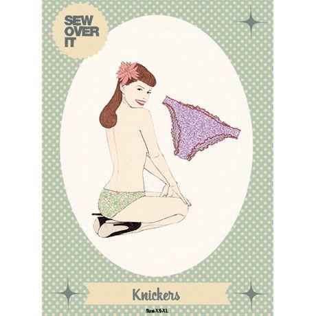 Knickers PDF Sewing Pattern