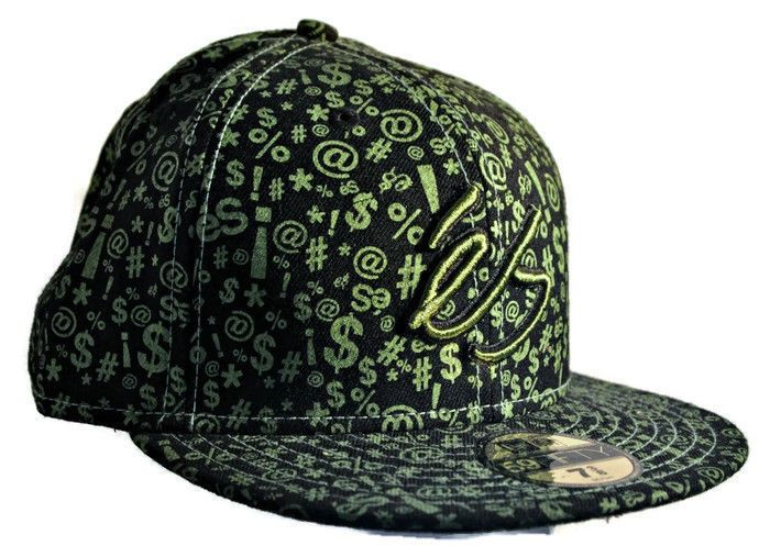 NEW ERA 59FIFTY Skateboarding Hat Size 7 3/8 Green ES Swear Custom Cap NWT   Clothing, Shoes & Accessories, Men's Accessories, Hats   eBay!