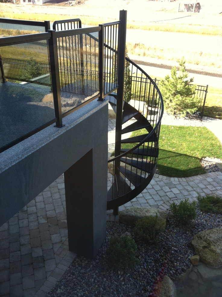 175 best images about decked out deck patio fence for Deck ideas above walkout basement