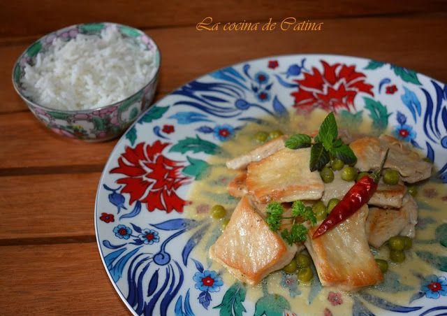 La cocina de Catina: Pechugas de pollo al curry verde