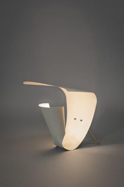 Lamp B201, 1952 ° Michel Buffet