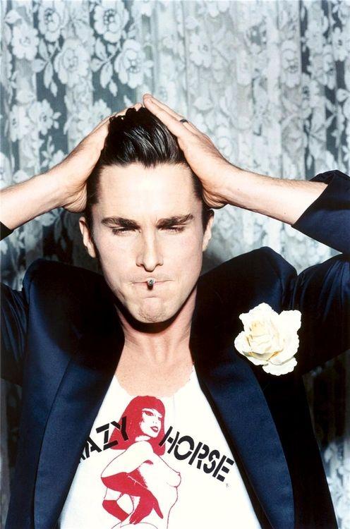 Christian Bale photographed by Ellen von Unwerth