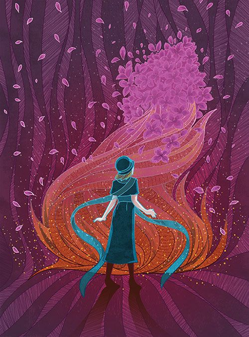 Mystery Book Cover Illustration : Nancy drew the mystery at lilac inn cover illustration