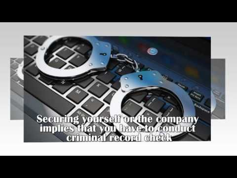 Run Full Background Check Online | Cyber security, Crime ...