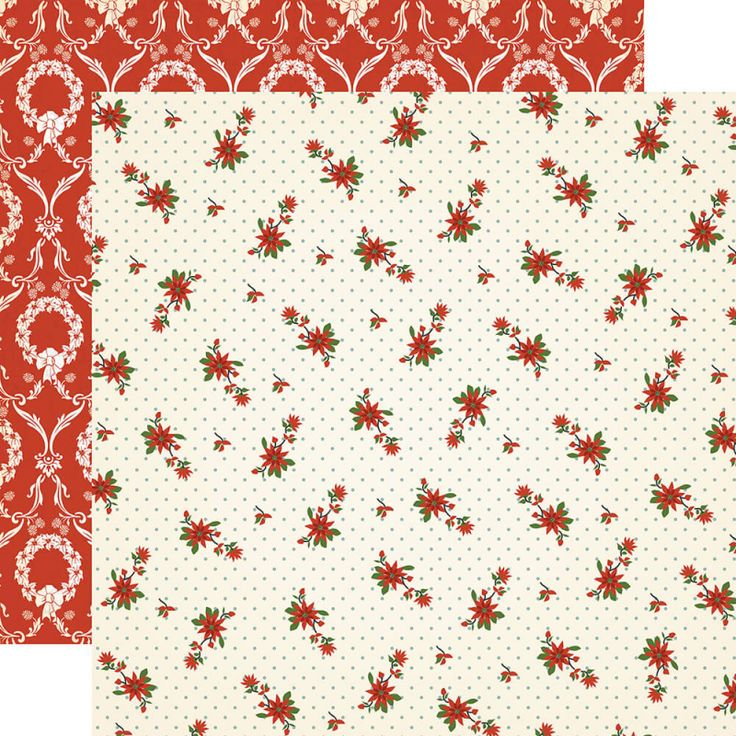 Papier Carta Bella - Poinsettia Paper
