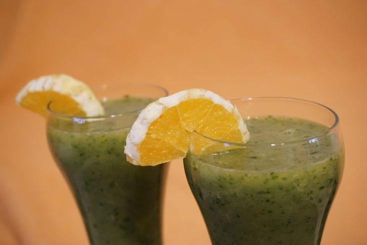 Ízletes+zöld+turmix,+hogy+erősítsük+az+immunrendszerünk.